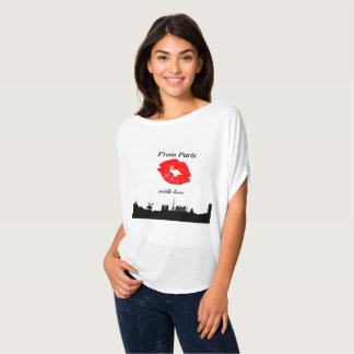 Trendy T-shirt From Parijs with love