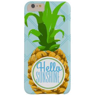 Trendy Tropische Ananas van de Zonneschijn van de Barely There iPhone 6 Plus Hoesje