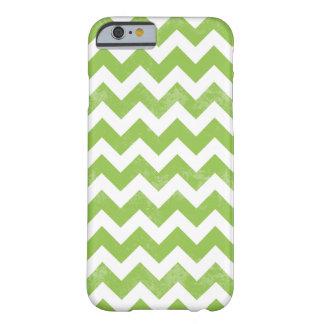 Trendy Verontruste Versleten Groene Witte Patroon Barely There iPhone 6 Hoesje