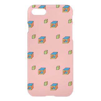 Trendy Vierkanten van de Pop (kleur DIY) iPhone 8/7 Hoesje
