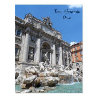 Trevi Fontein Rome Briefkaart