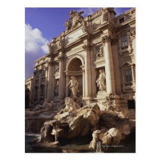 Trevi Fontein, Rome, Italië Briefkaart