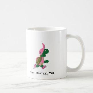 Tri, schildpad, tri koffiemok