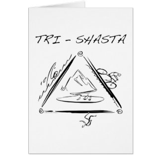 Tri-Shasta-Triathalon Wenskaart