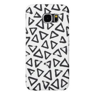 Triangels, het Geometrische Skandinavische Patroon Samsung Galaxy S6 Hoesje