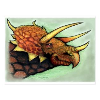 Triceratops Briefkaart