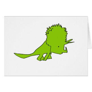 Triceratops Briefkaarten 0