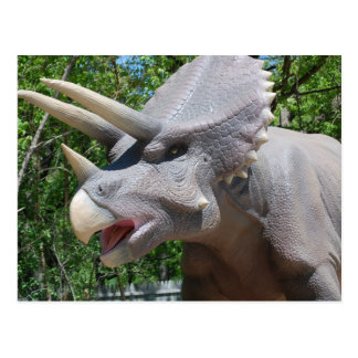 Triceratops/Dinosaurussen Briefkaart