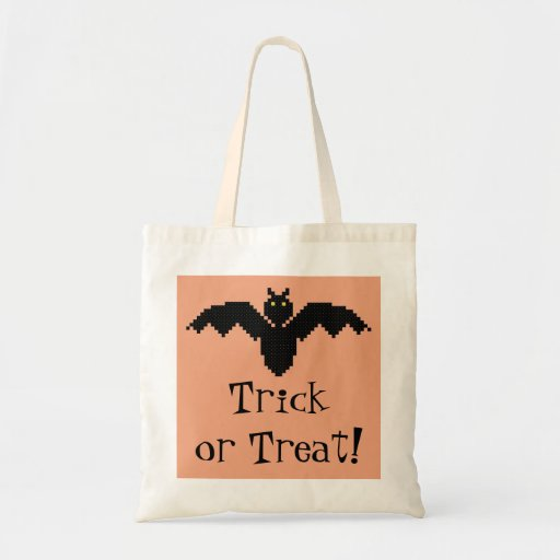 Trick or treat! De Zak van Halloween van de knuppe Draagtas