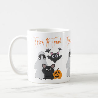 """Trick or treat "" Koffiemok"