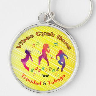 Trinidad en Tobago Carnaval Sleutelhanger