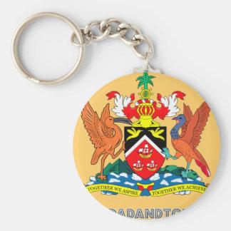 Trinidadian Embleem Sleutelhanger