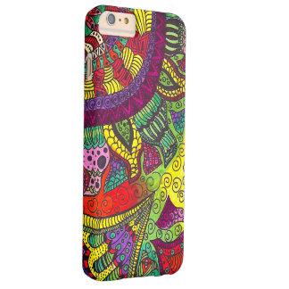 Trippy Kleurrijke Mandala Barely There iPhone 6 Plus Hoesje