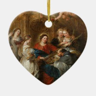 Triptiek St. Idelfonso - Peter Paul Rubens Keramisch Hart Ornament