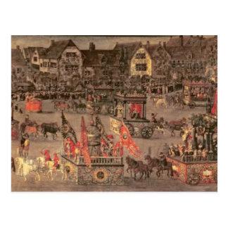 Triumph van de Aartshertogin Isabella (1556-1633 Briefkaart