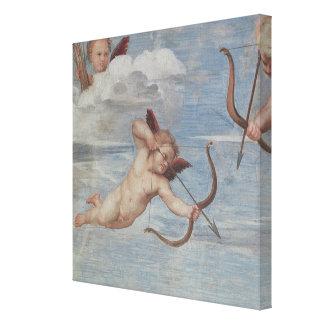 Triumph van Galatea Canvas Print