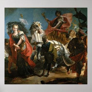 Triumph van Marcus Aurelius Poster