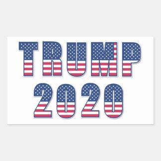 Troef 2020 rechthoekige sticker