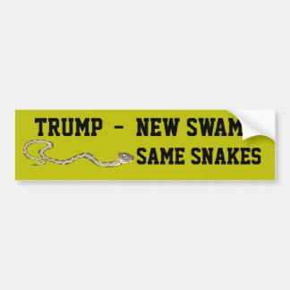 """""""Troef - Nieuw Moeras. Zelfde Slangen """" Bumpersticker"""