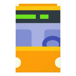 Trolleybus Briefpapier