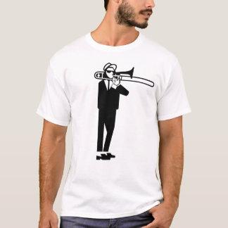 Trombone 2 van Walt Jabsco van Ska Toon T Shirt