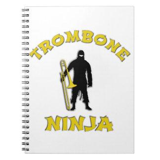 Trombone Ninja Ringband Notitieboek