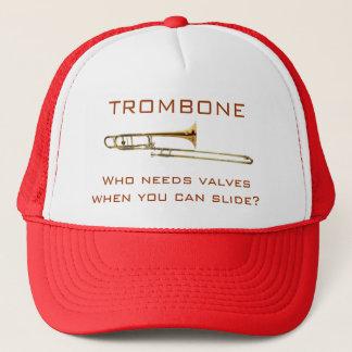 Trombone:  Who heeft kleppen nodig?  Pet