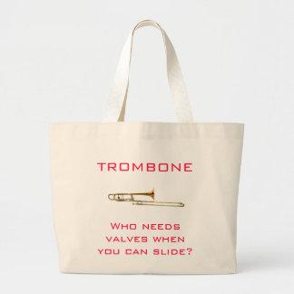 Trombone:  Who heeft kleppen nodig?  Zak Grote Draagtas