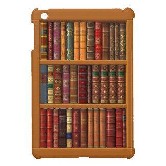 Trompe - l ' oeil van een bibliotheek van iPad mini hoesje