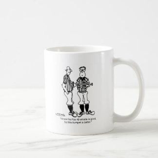 Trompet dan beter een Fluitje Koffiemok