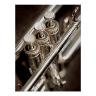 trompet kleppen poster