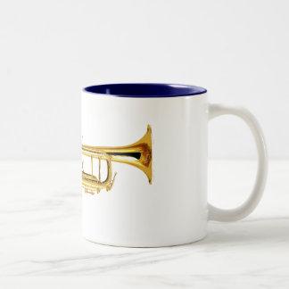 Trompet Tweekleurige Koffiemok