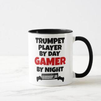 Trompetter tegen Dag 's nachts Gamer Mok