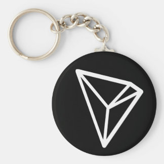 Tron TRX Basis (Zwarte) Keychain Sleutelhanger