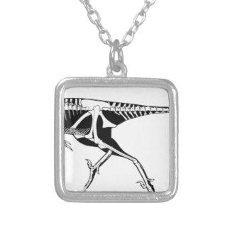 Troodon Zilver Vergulden Ketting