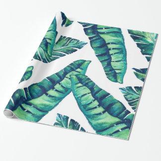 Tropisch Glam Verpakkend document 30x6 Inpakpapier