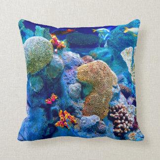 Tropisch Kleurrijk Onderzees Koraalrif Sierkussen
