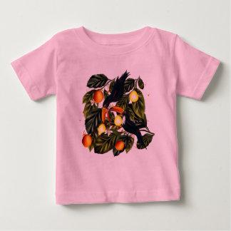 Tropisch paradijs. Toekannen en citrusvrucht Baby T Shirts