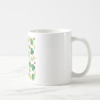 Tropisch patroon koffiemok