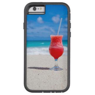 Tropisch Strand Daiquiri en Turkoois Water Tough Xtreme iPhone 6 Hoesje