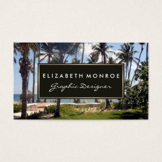 Tropisch Strand Visitekaartjes