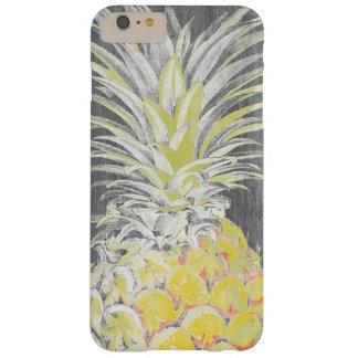Tropische Gele Pinneapple Barely There iPhone 6 Plus Hoesje
