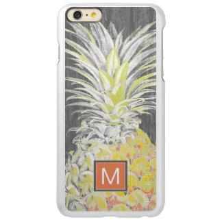 Tropische Gele Pinneapple Incipio Feather® Shine iPhone 6 Plus Hoesje