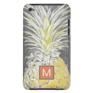 Tropische Gele Pinneapple iPod Touch Hoesje