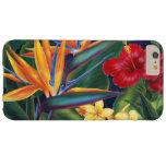 Tropische Hawaiiaanse Bloemen van het Paradijs iPhone 6 Plus Barely There Hoesje