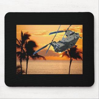 Tropische Helikopter Muismat