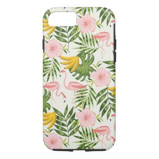 Tropische iPhone 7 van de Flamingo van de Zomer iPhone 8/7 Hoesje