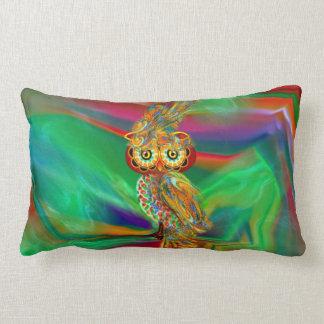Tropische Mode Koningin Owl Pillow Lumbar Kussen