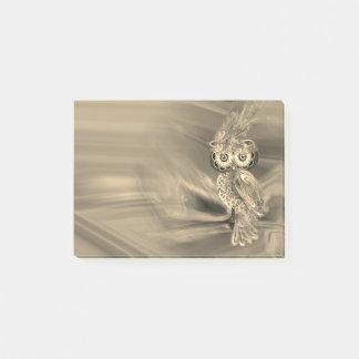 Tropische Mode Koningin Owl Post-it® Notes