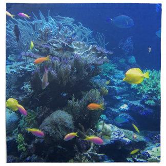 Tropische onderwatervissen servet